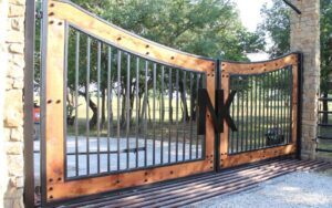 driveway gates - rowlett garage door repair 1