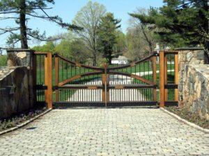 driveway gates - rowlett garage door repair 3